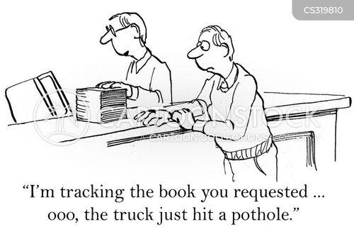 road condition cartoon
