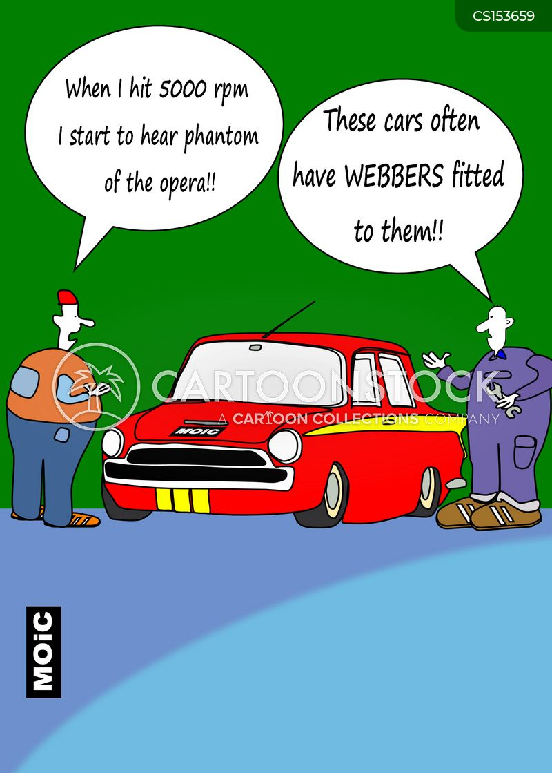 boy racers cartoon