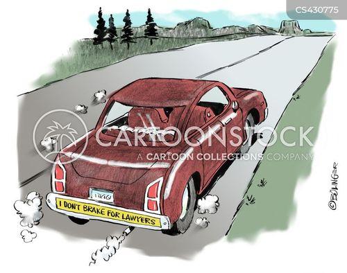 hit & run cartoon