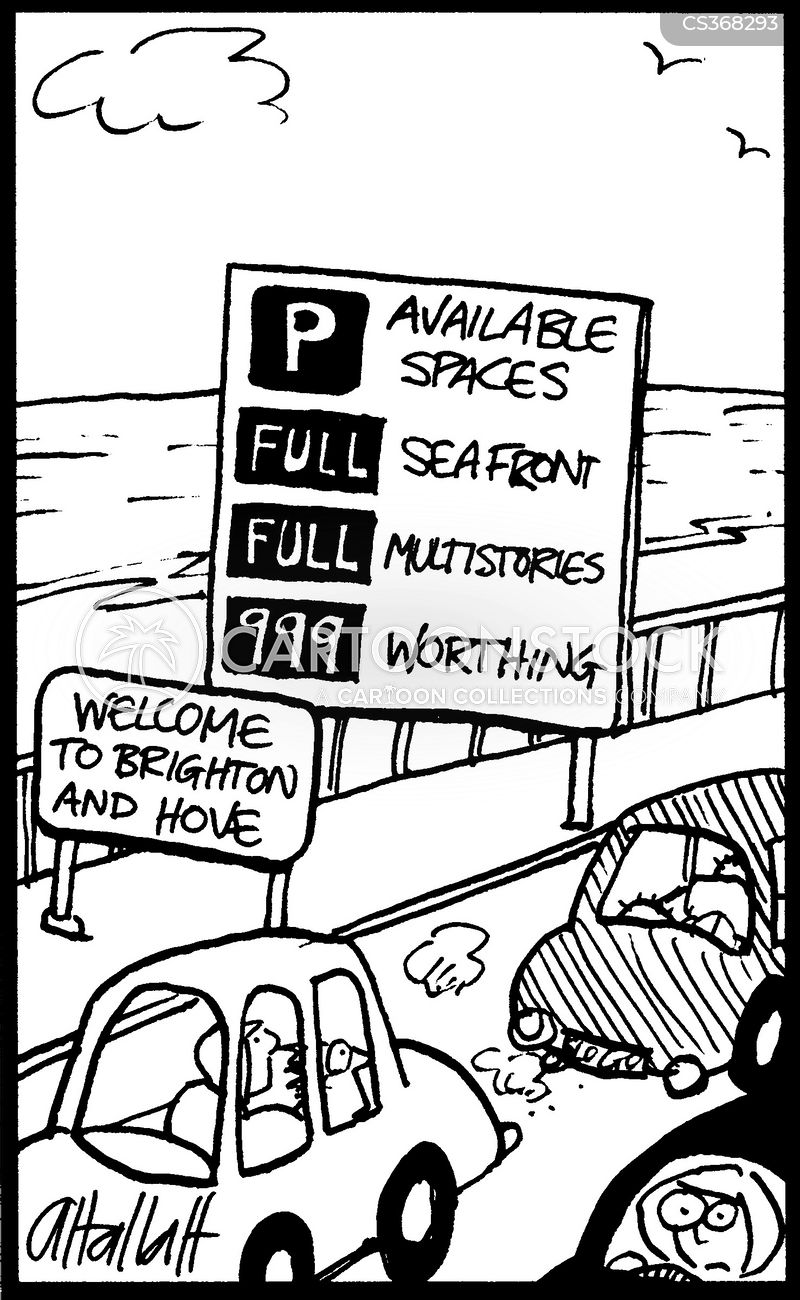 brighton cartoon