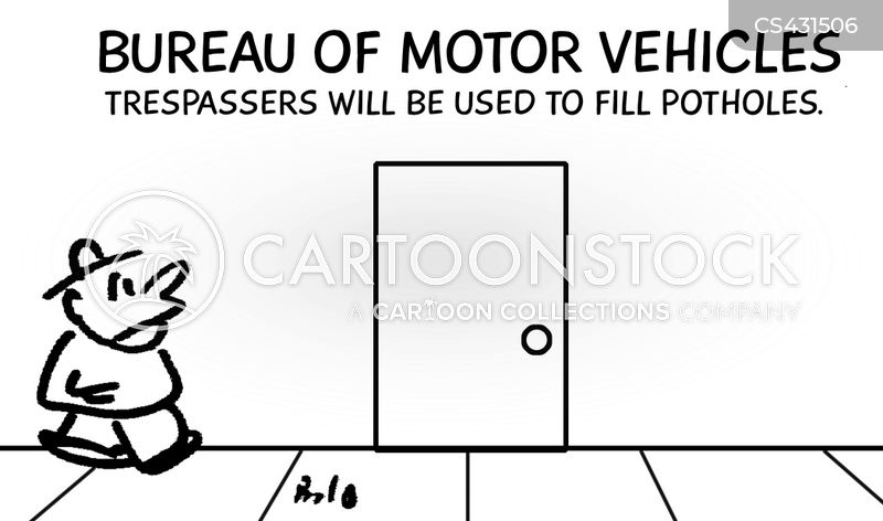 Bureau Of Motor Vehicles Cartoons And Comics Funny