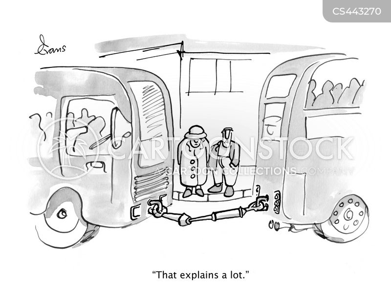 transport links cartoon