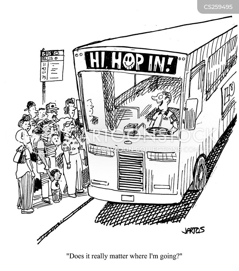 Bus Driver Cartoon 10 of 59
