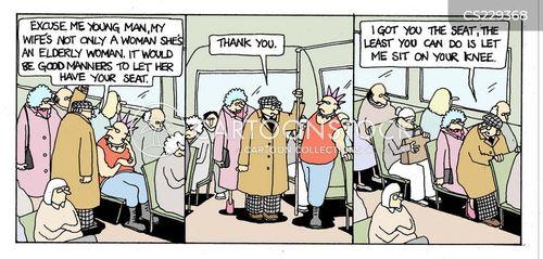 bus journey cartoon
