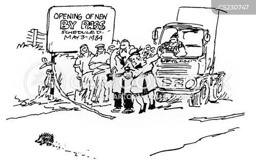 bypasses cartoon