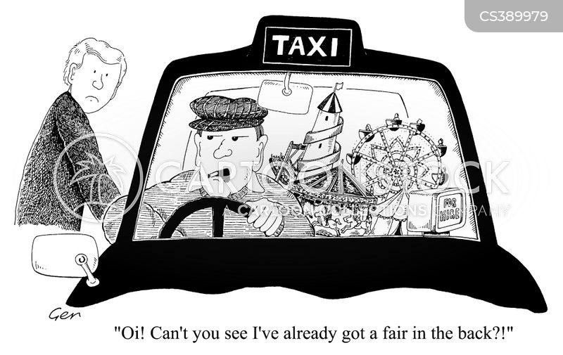 black cabs cartoon