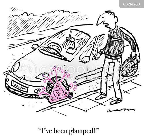 glamour cartoon