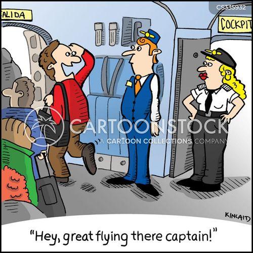 piloted cartoon