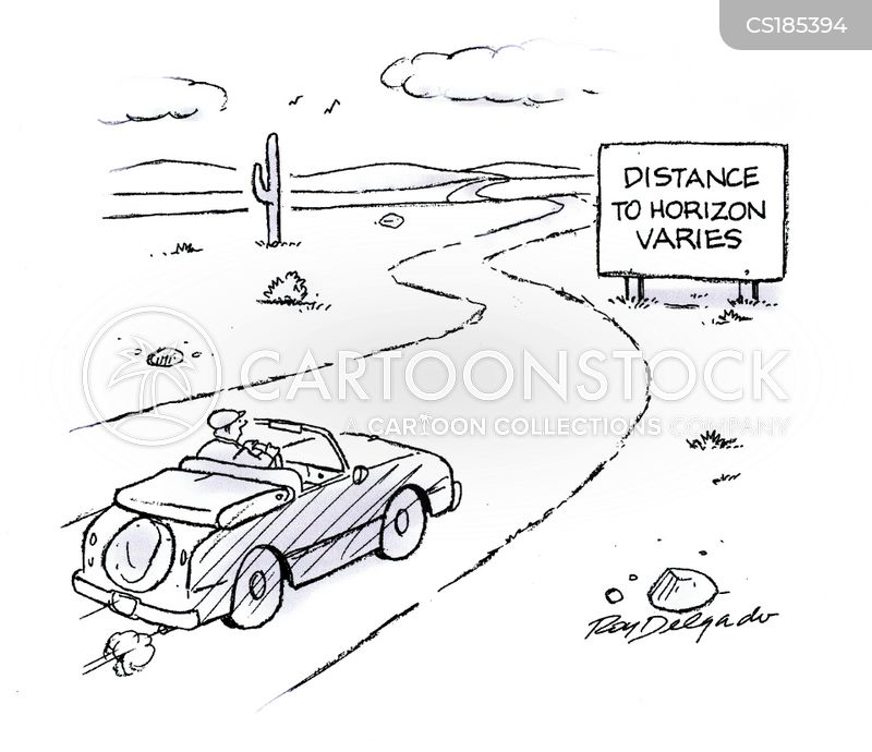 distances cartoon