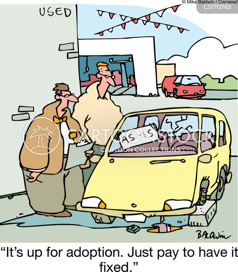clunkers cartoon