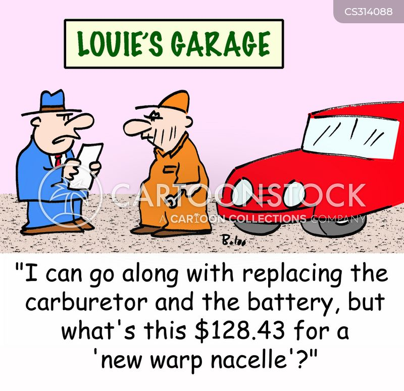 carburetor cartoon