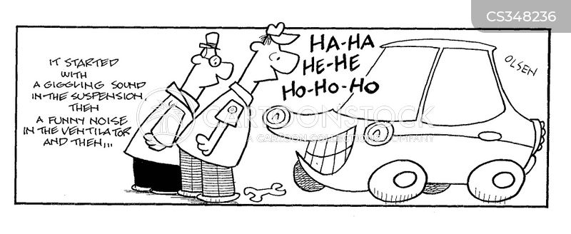 Image result for laughing car
