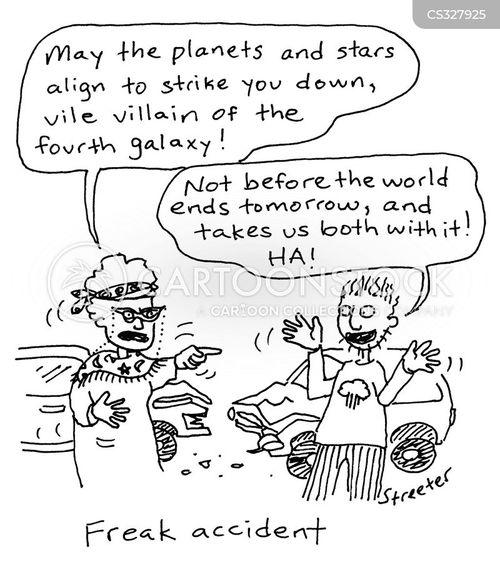 freak accidents cartoon