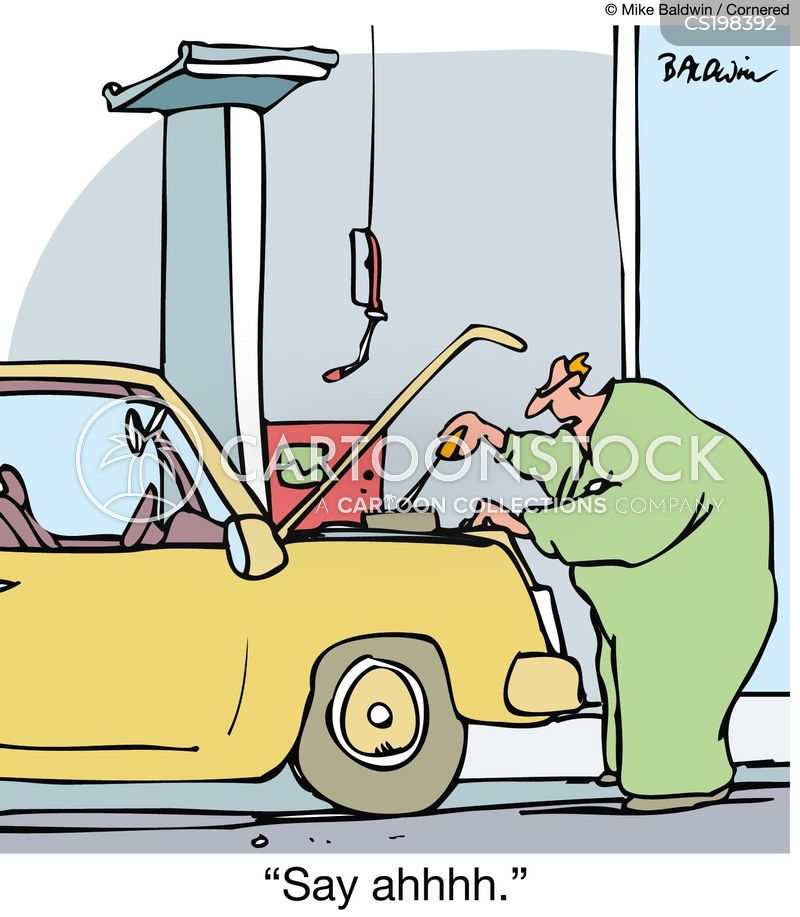 Broken Car Cartoons And Comics Funny Pictures From