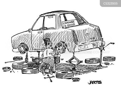 car jacks cartoon