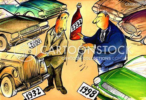 modern cars cartoon