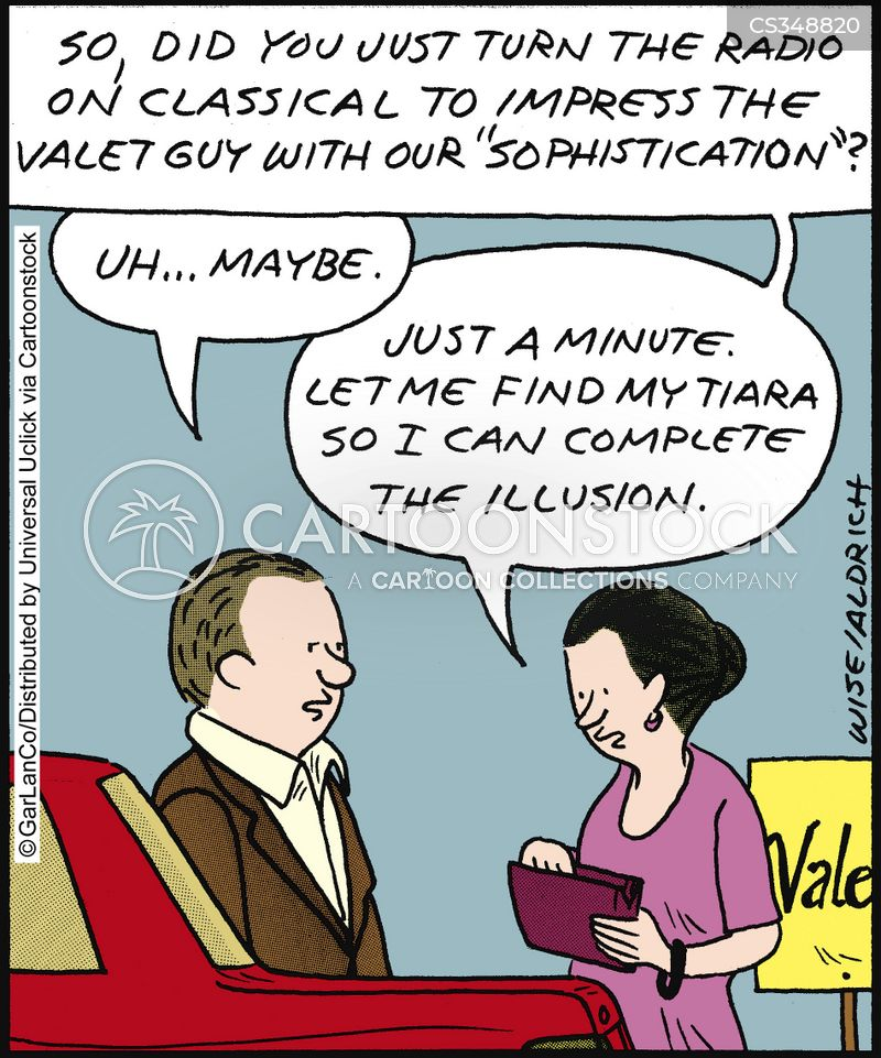 valeting cartoon