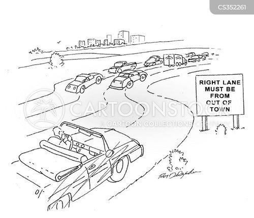 expressway cartoon