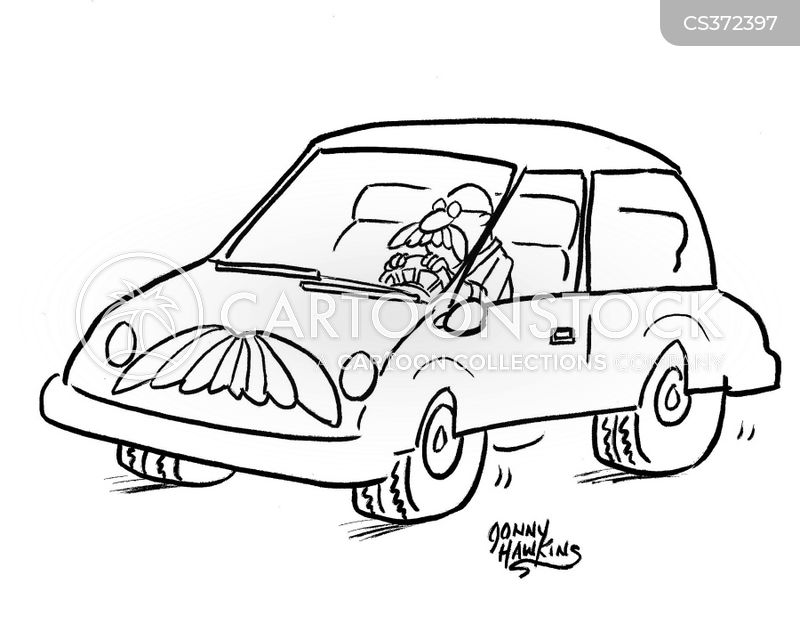 car travel cartoon