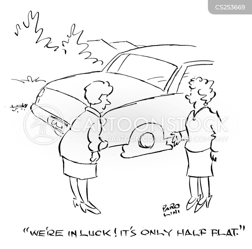 women driver cartoon
