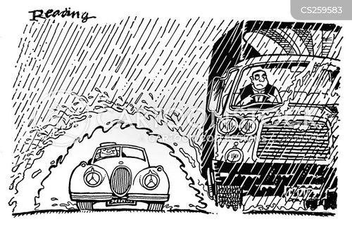 vintage car cartoon