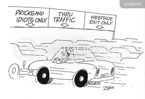 road hogs cartoon