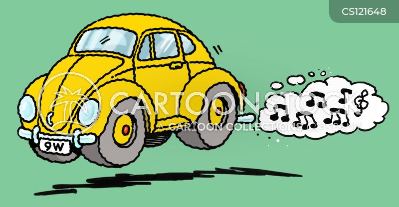 noisy cars cartoon