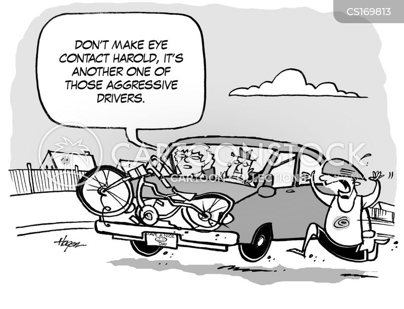 Bad Drivers Cartoon 4 of 131
