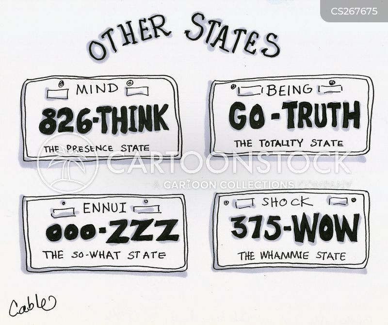 state of mind cartoon