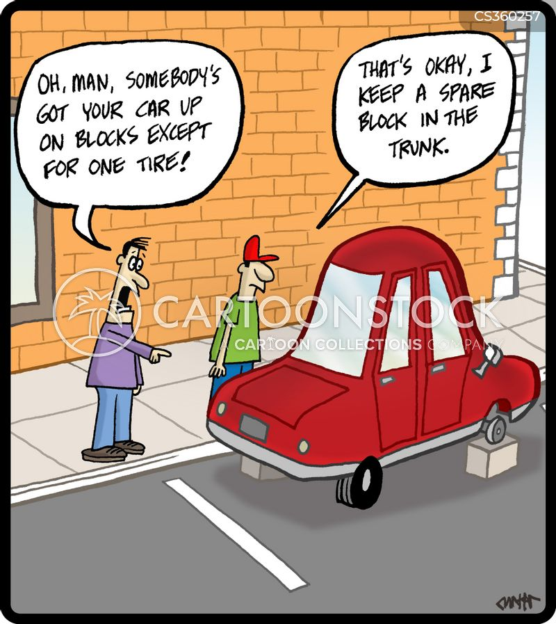 concrete blocks cartoon