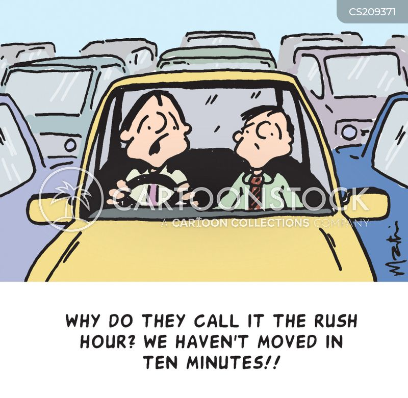 rush hours cartoon