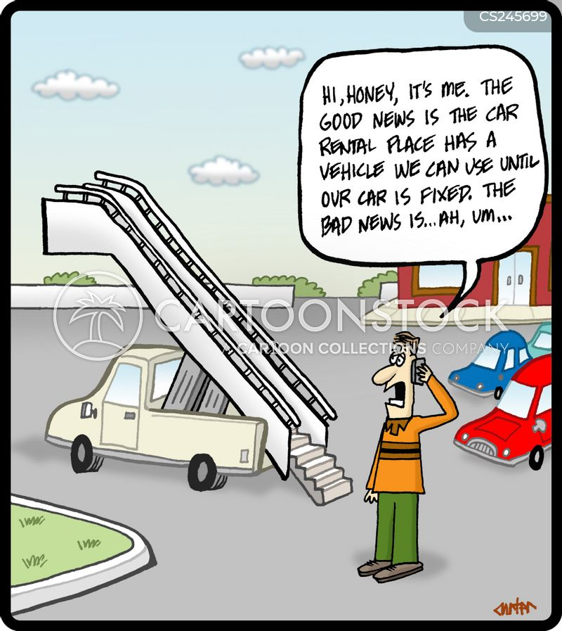 vehicle rental cartoons and comics funny pictures from cartoonstock
