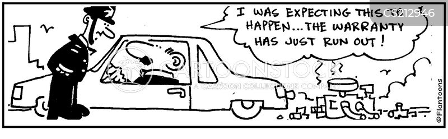 cars warranty cartoon