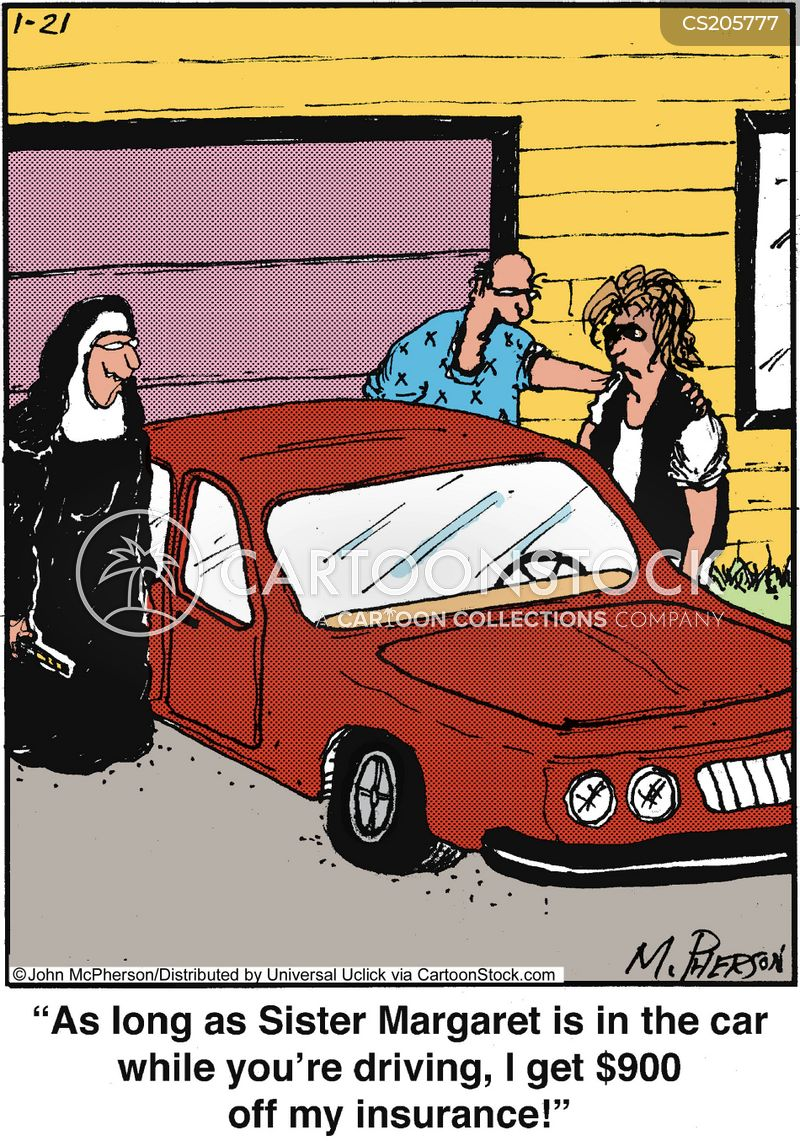 Bad Driving Cartoon 5 of 31