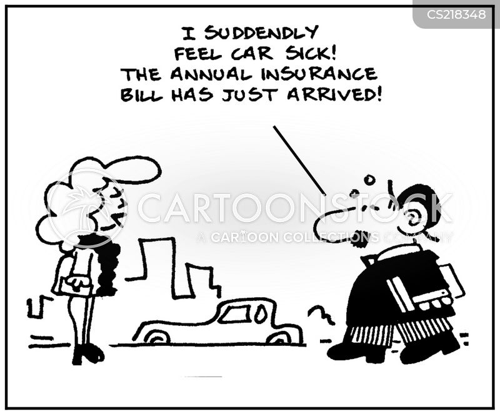 car insurances cartoon