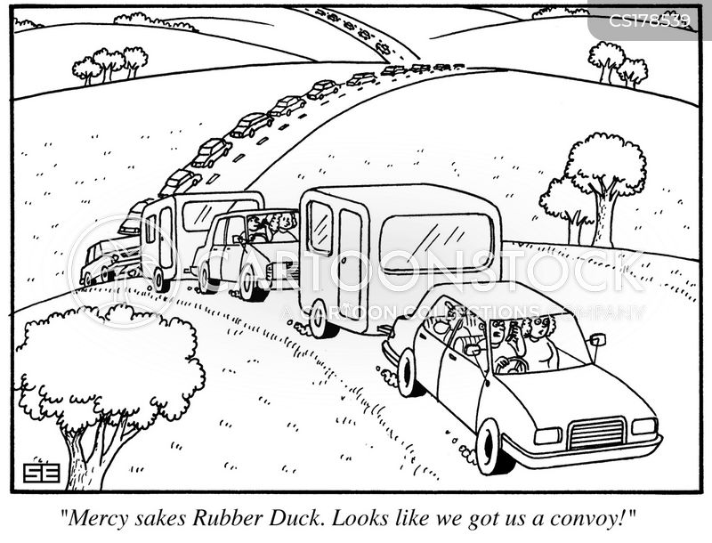 convoy cartoon