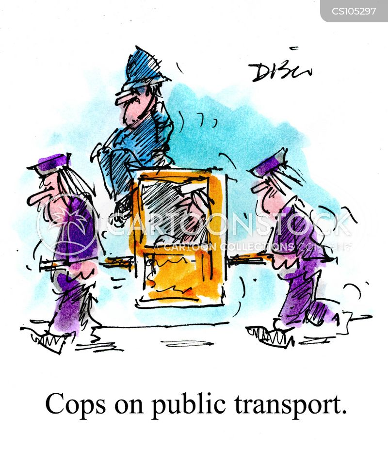 policed cartoon