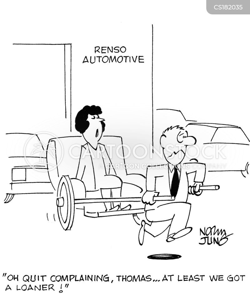 loaners cartoon