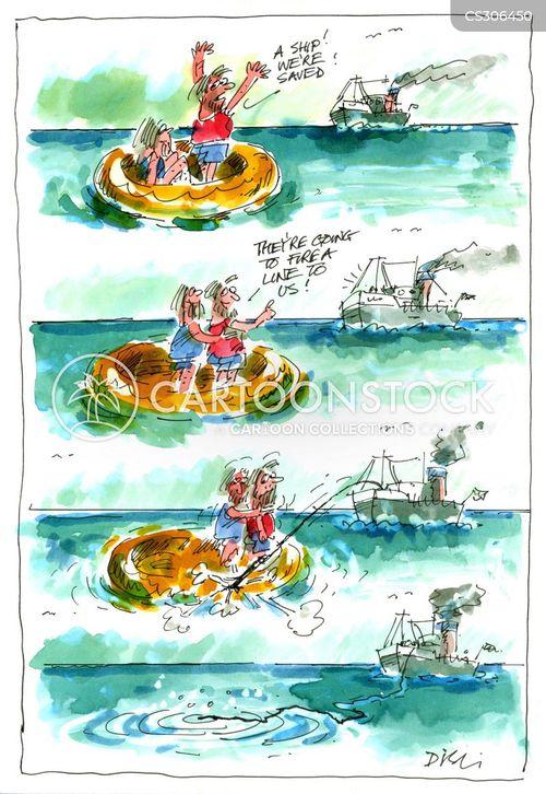 sank cartoon