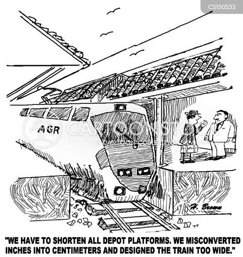 railway scandal cartoon