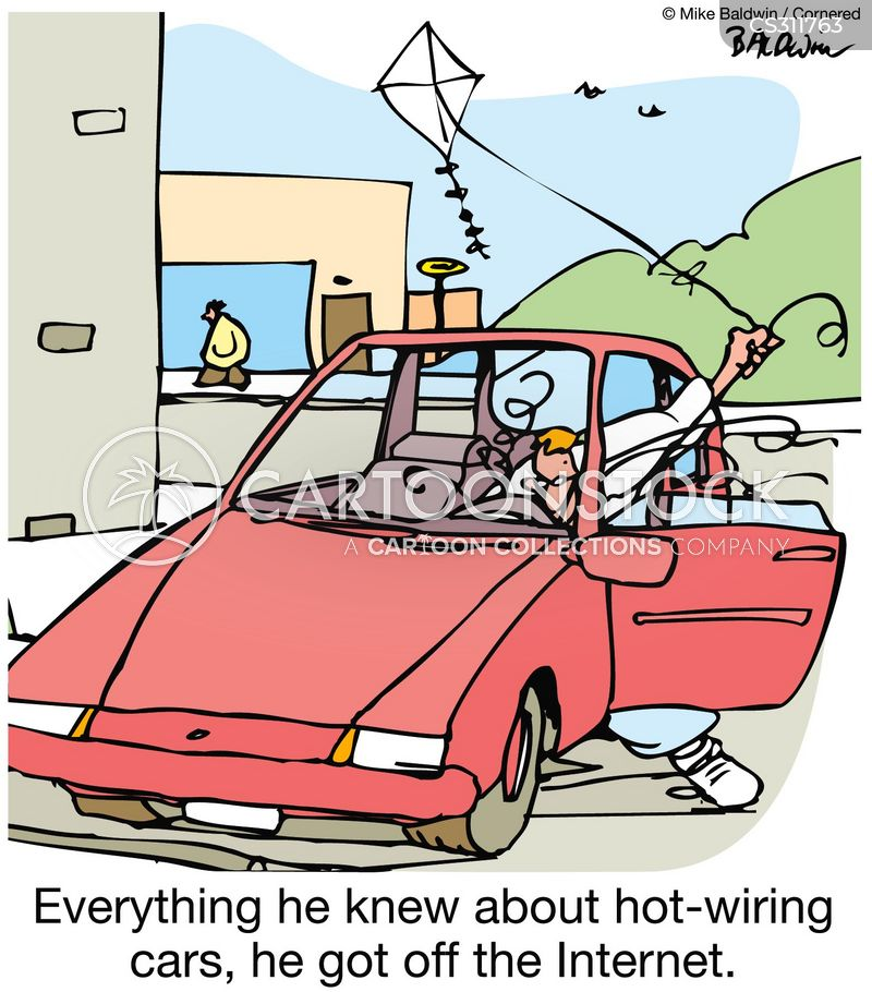 hot wire cartoons and comics funny pictures from cartoonstock rh cartoonstock com hot wiring cars today Wiring a Hot Tub Spa