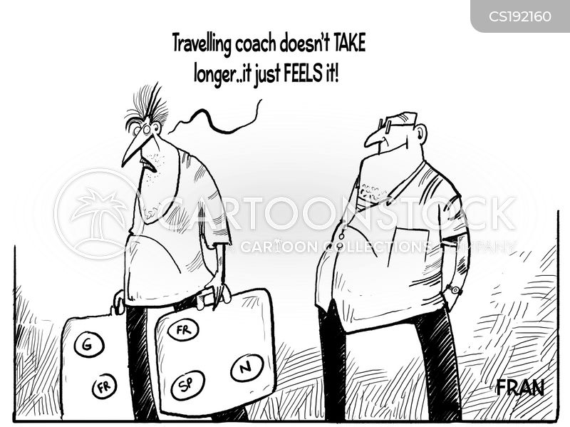 cheap ticket cartoon