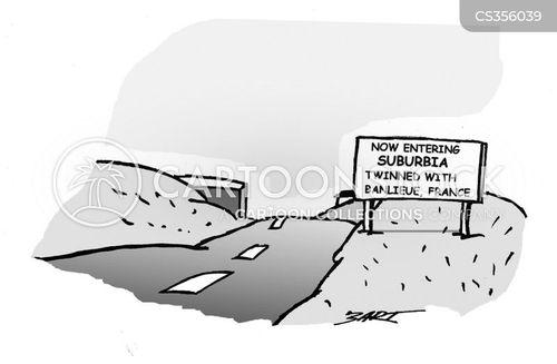 twin cities cartoon