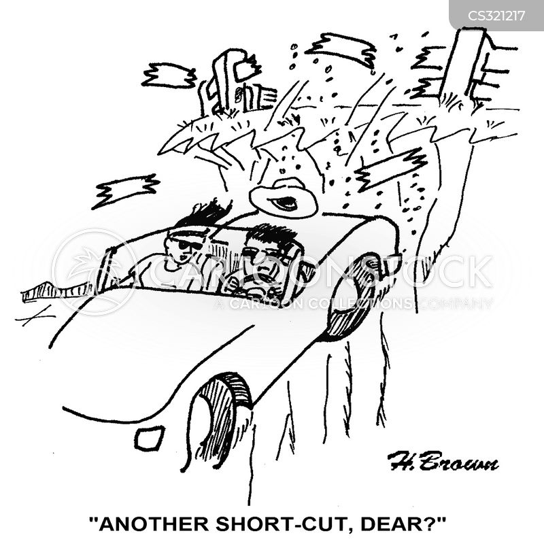 short-cut cartoon