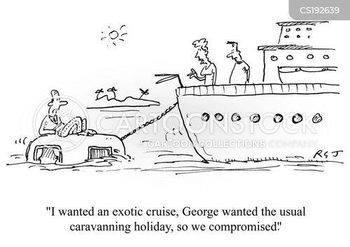 caravans cartoon