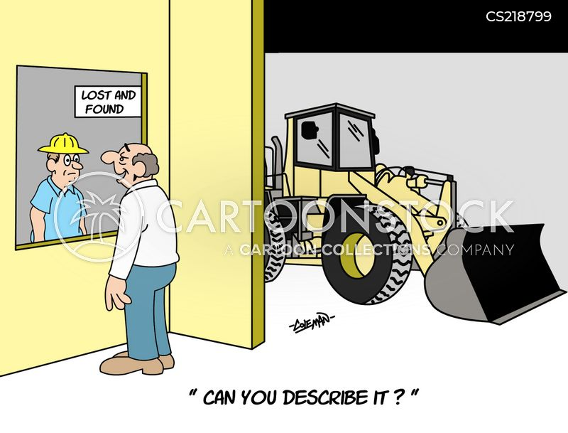 heavy equipment cartoon