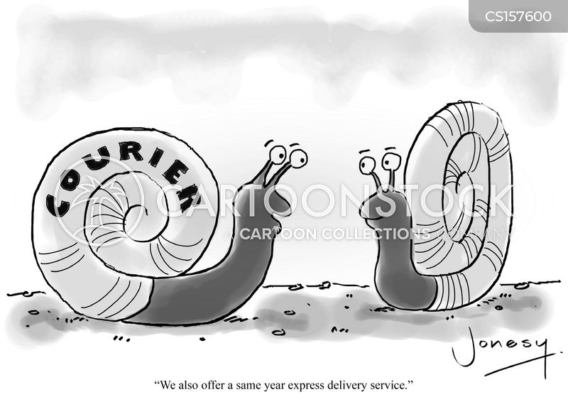 Courier cartoons, Courier cartoon, funny, Courier picture, Courier pictures, Courier image, Courier images, Courier illustration, Courier illustrations