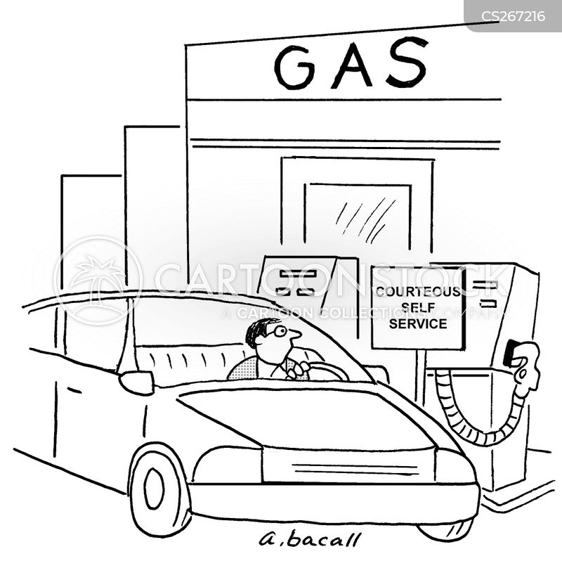 gas station coloring page - photo #29