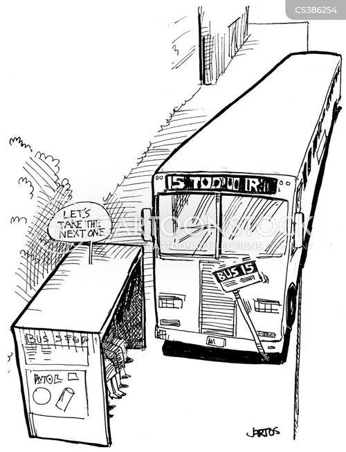omnibus cartoon