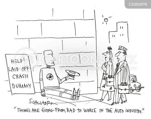auto industries cartoon